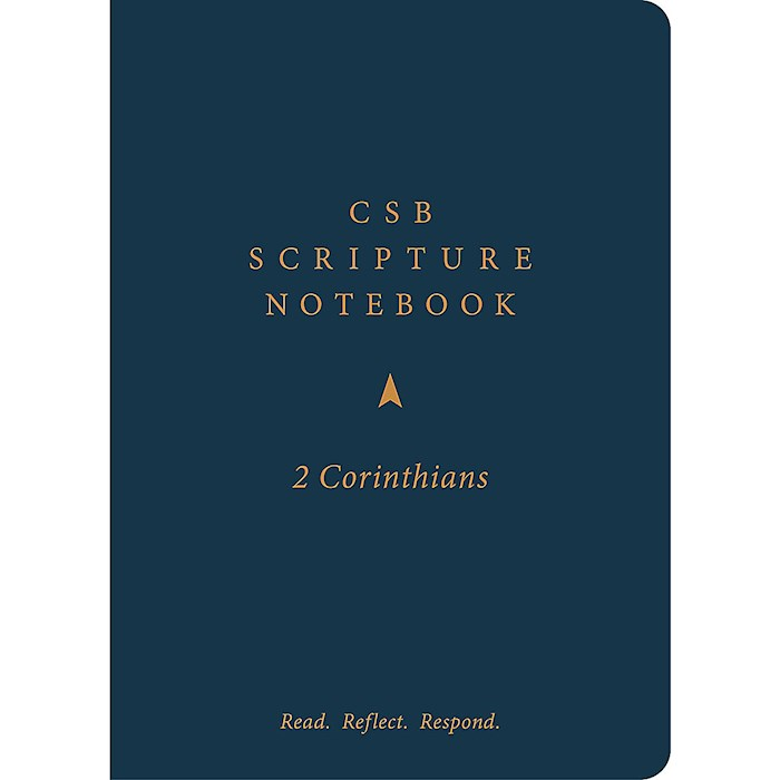 CSB Scripture Notebook: 2 Corinthians-Softcover | SHOPtheWORD