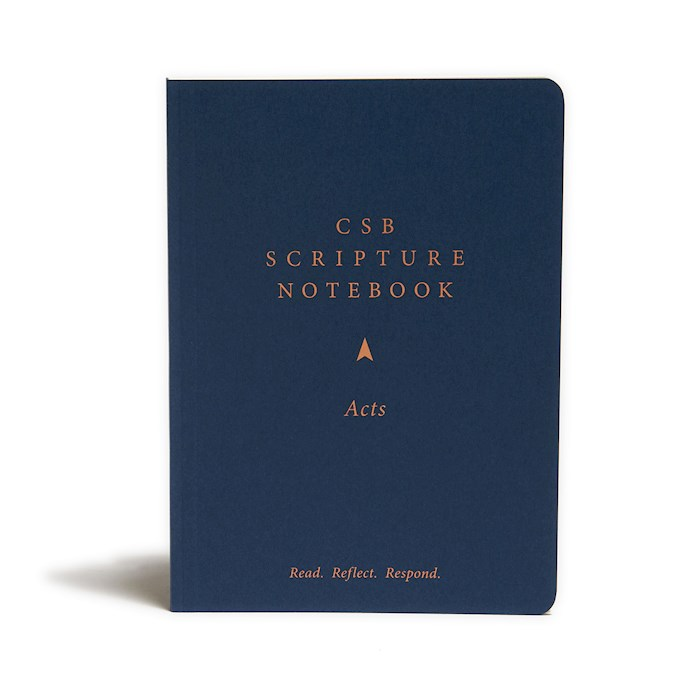 CSB Scripture Notebook: Acts-Softcover | SHOPtheWORD