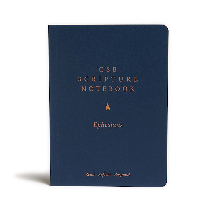 CSB Scripture Notebook: Ephesians-Softcover (Nov) | SHOPtheWORD