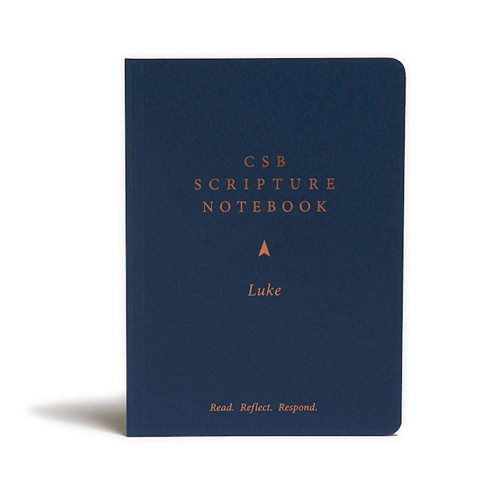 CSB Scripture Notebook: Luke-Softcover | SHOPtheWORD