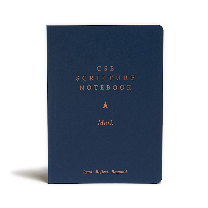 CSB Scripture Notebook: Mark-Softcover (Nov) | SHOPtheWORD