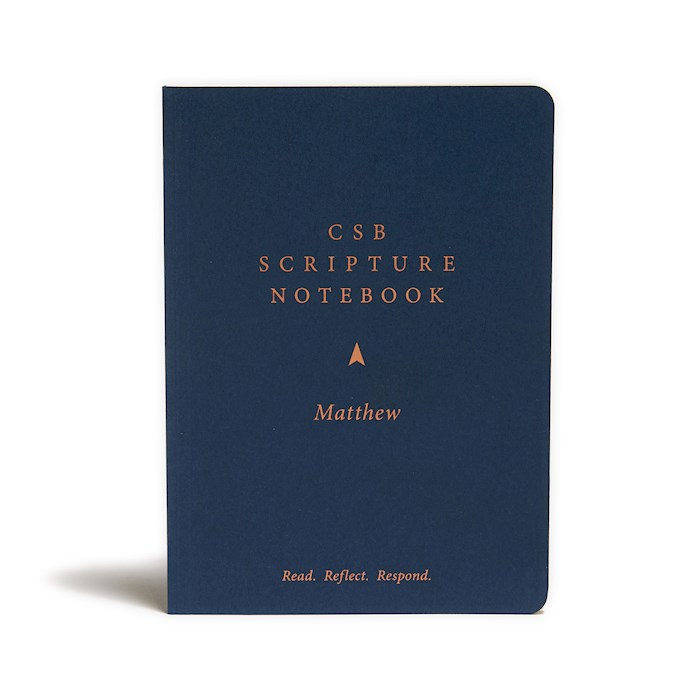 CSB Scripture Notebook: Matthew-Softcover | SHOPtheWORD