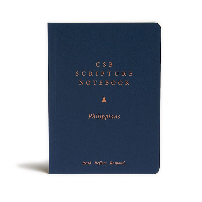 CSB Scripture Notebook: Philippians-Softcover (Nov) | SHOPtheWORD