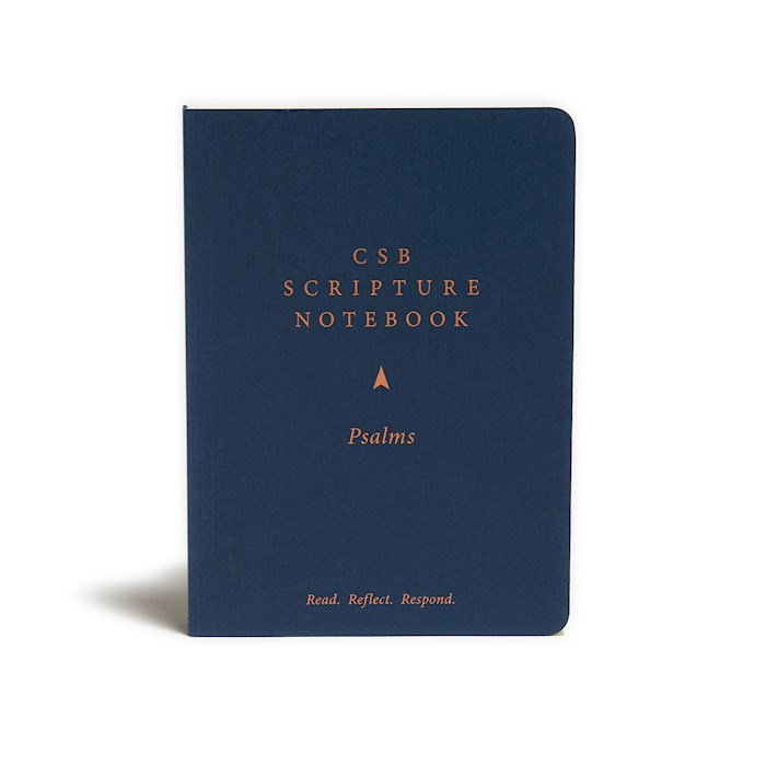 CSB Scripture Notebook: Psalms-Softcover (Nov) | SHOPtheWORD