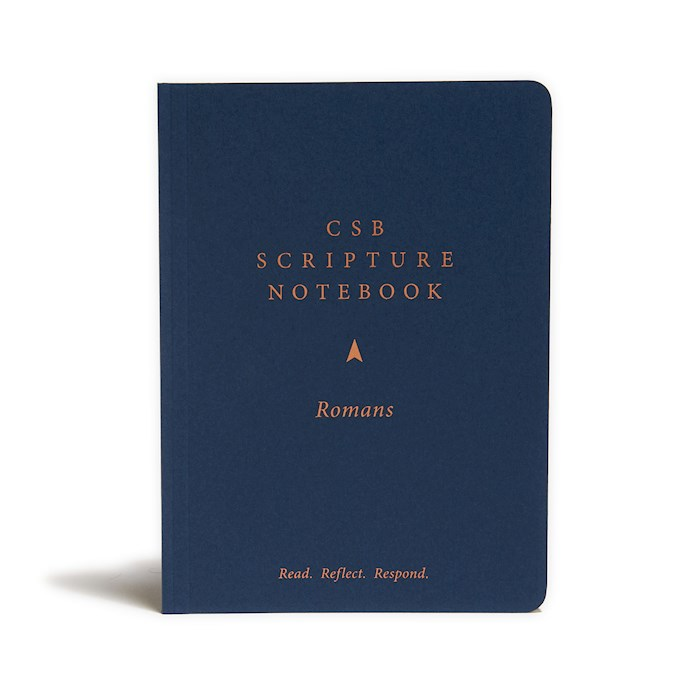 CSB Scripture Notebook: Romans-Softcover (Nov) | SHOPtheWORD