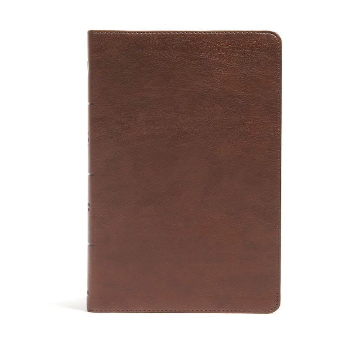 CSB Seven Arrows Bible-Brown LeatherTouch | SHOPtheWORD