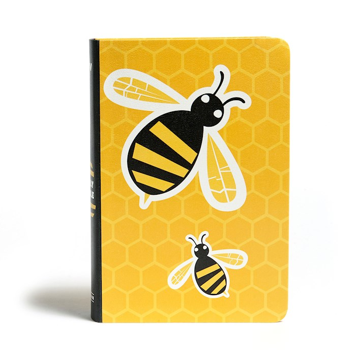 KJV Kids Bible-Yellow Bee LeatherTouch | SHOPtheWORD