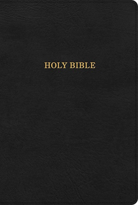 KJV Large Print Ultrathin Reference Bible-British Tan LeatherTouch (Black Letter) (Oct) | SHOPtheWORD