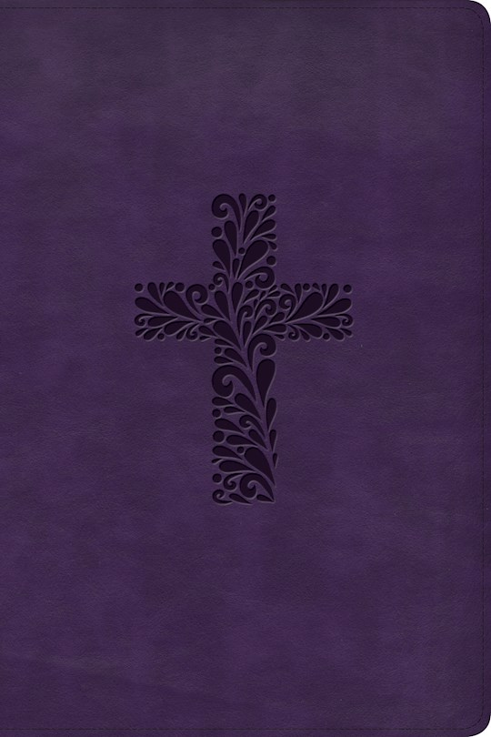 KJV Study Bible (Full Color)-Purple LeatherTouch Indexed (Oct) | SHOPtheWORD