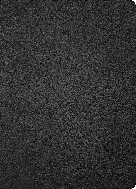 KJV Study Bible (Full-Color)-Black Premium Leather | SHOPtheWORD