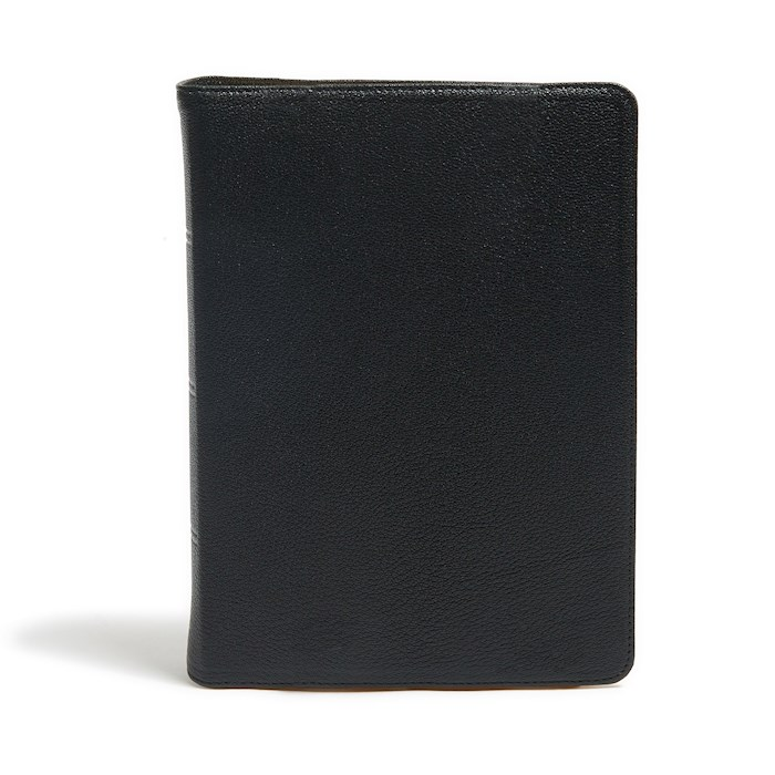 KJV Study Bible (Full-Color)-Black Premium Leather Indexed (Nov) | SHOPtheWORD