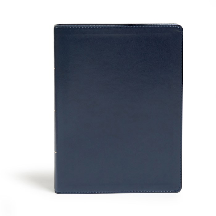 KJV Study Bible (Full-Color)-Navy LeatherTouch (Nov) | SHOPtheWORD