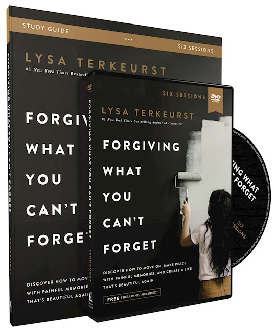 Forgiving What You Can't Forget Study Guide w/DVD (Curriculum Kit) by Lysa TerKeurst | SHOPtheWORD