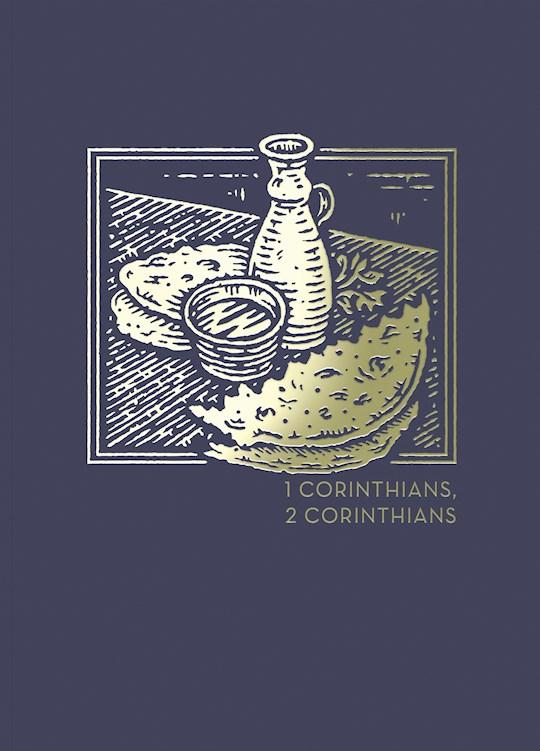 NET Abide Bible Journal: 1-2 Corinthians (Comfort Print)-Softcover | SHOPtheWORD