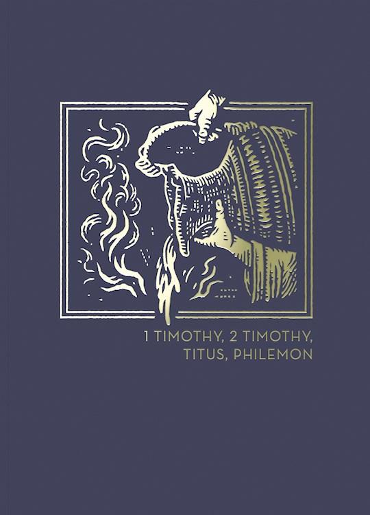NET Abide Bible Journal: 1-2 Timothy, Titus, Philemon (Comfort Print)-Softcover | SHOPtheWORD