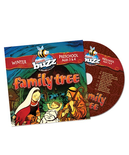 Buzz Winter 2020-2021: Preschool Family Tree CD | SHOPtheWORD