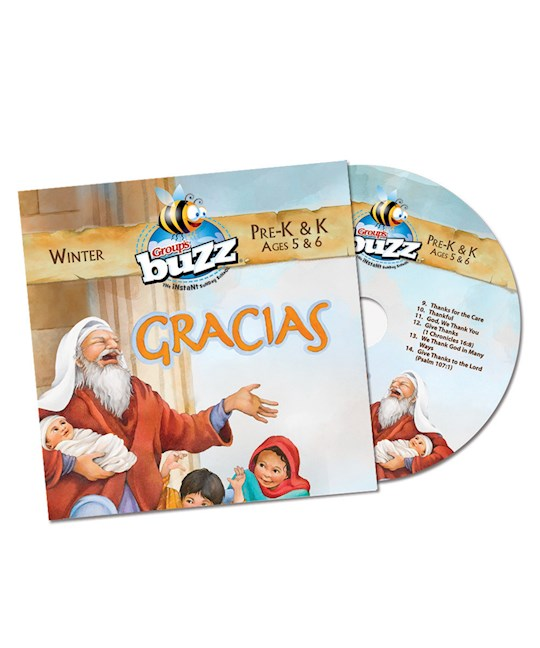 Buzz Winter 2020-2021: Pre-K & Kindergarten Gracias CD | SHOPtheWORD