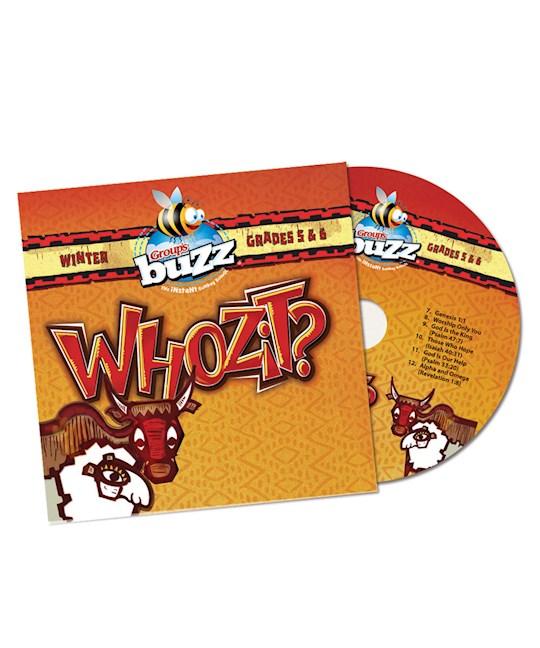 Buzz Winter 2020-2021: Grades 5 & 6 Whozit? CD | SHOPtheWORD
