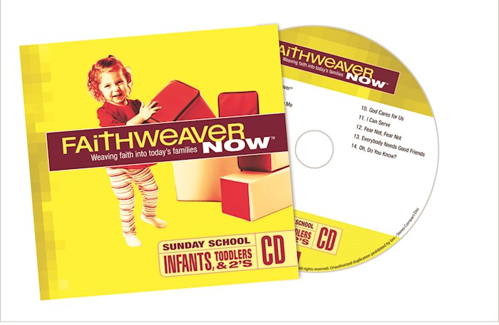 FaithWeaver Now Winter 2020-2021: Infants, Toddlers & Twos CD | SHOPtheWORD