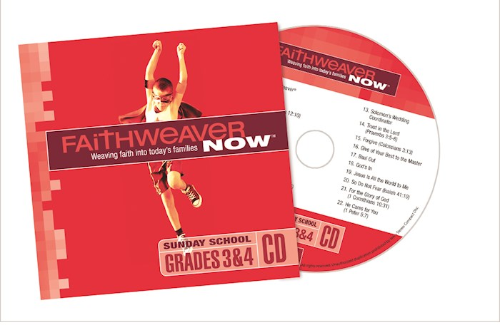 FaithWeaver Now Winter 2020-2021: Grades 3 & 4 CD | SHOPtheWORD