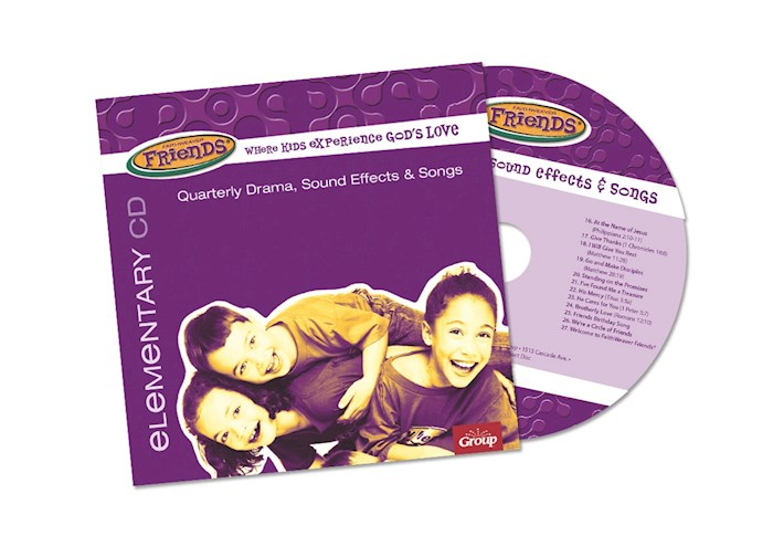 FaithWeaver Friends Winter 2020-2021: Elementary Drama, Sound Effects & Songs CD | SHOPtheWORD
