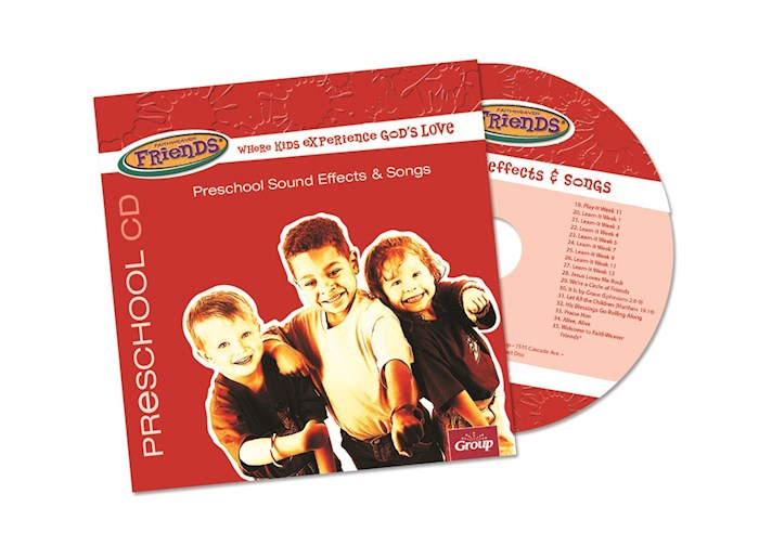 FaithWeaver Friends Winter 2020-2021: Preschool Drama, Sound Effects & Songs CD | SHOPtheWORD