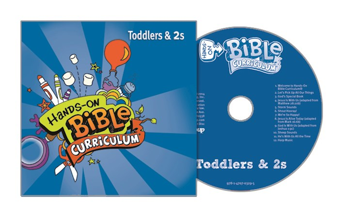 Hands-On Bible Curriculum Winter 2020-2021: Toddlers & 2s CD | SHOPtheWORD