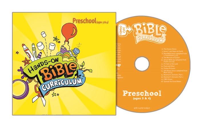 Hands-On Bible Curriculum Winter 2020-2021: Preschool CD | SHOPtheWORD