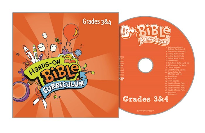 Hands-On Bible Curriculum Winter 2020-2021: Grades 3 & 4 CD | SHOPtheWORD