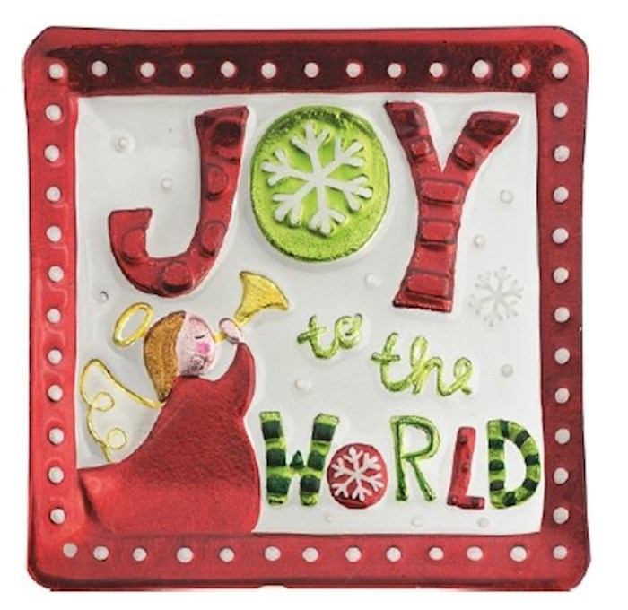 "Platter-Joy To The World (11"" x 11"") 