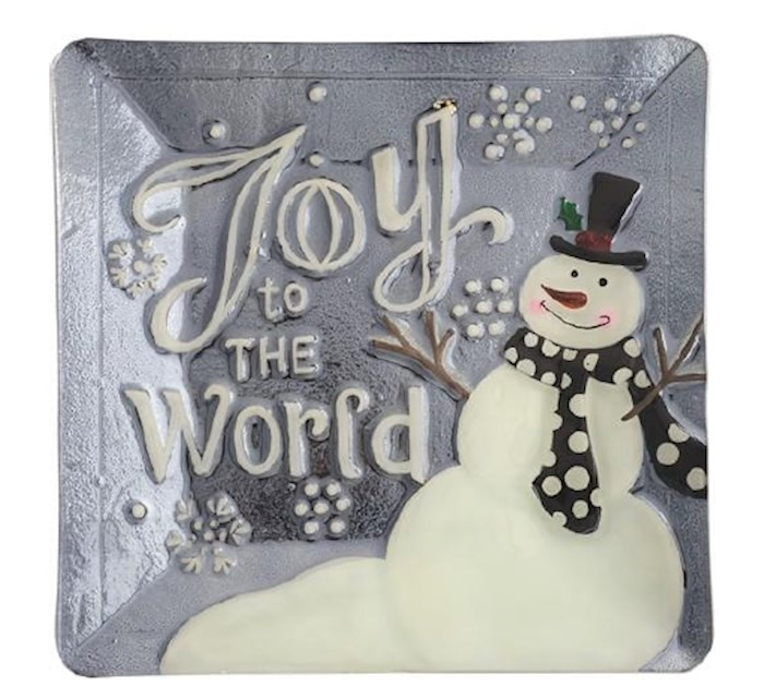 "Platter-Joy To The World (12.25"" x 12.25"") 
