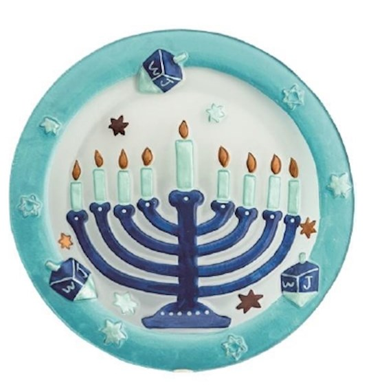 "Platter-Menorah (12"" Diameter) 