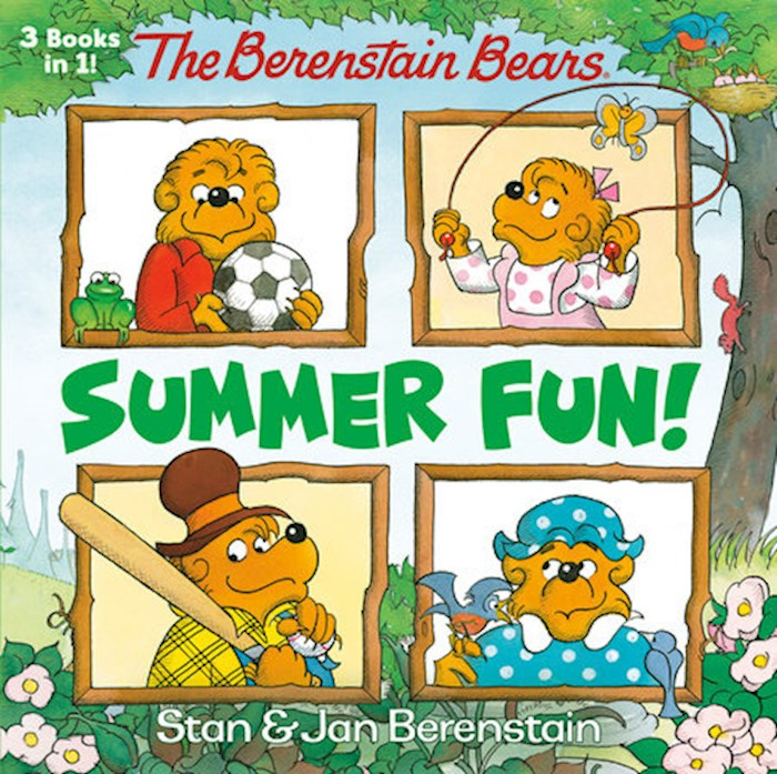 The Berenstain Bears Summer Fun! (3-In-1) by Bears Berenstain | SHOPtheWORD