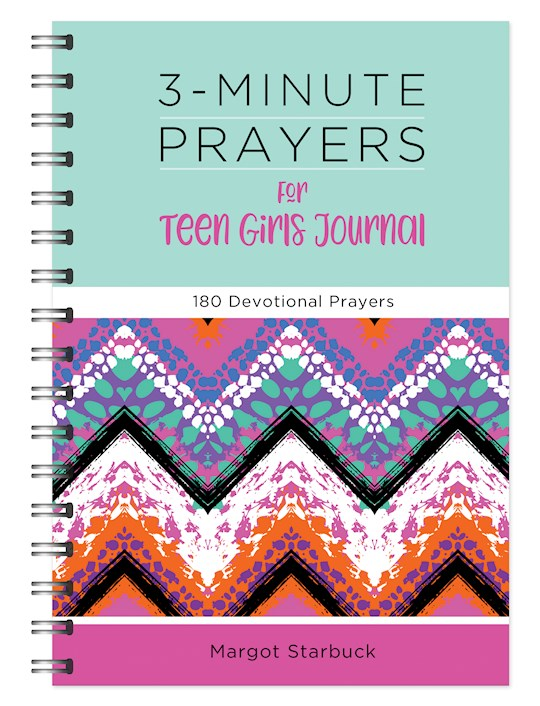 3-Minute Prayers For Teen Girls Journal (Dec) by Margot Starbuck | SHOPtheWORD