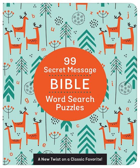 99 Secret Message Bible Word Search Puzzles by Barbour | SHOPtheWORD