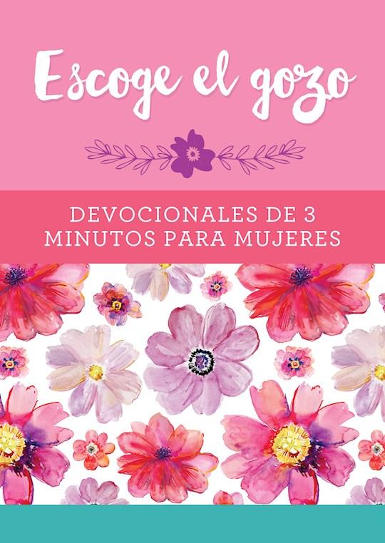 Span-Choose Joy: 3-Minute Devotions For Women (Escoge El Gozo: Devocionales De 3 Minutos Para Mujeres) by Barbour | SHOPtheWORD