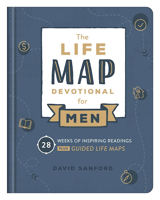 Life Map Devotional For Men (Dec) by David Sanford | SHOPtheWORD