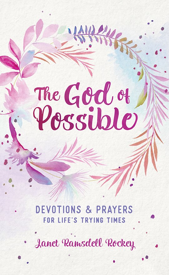 The God Of Possible (Dec) by Janet Rockey | SHOPtheWORD