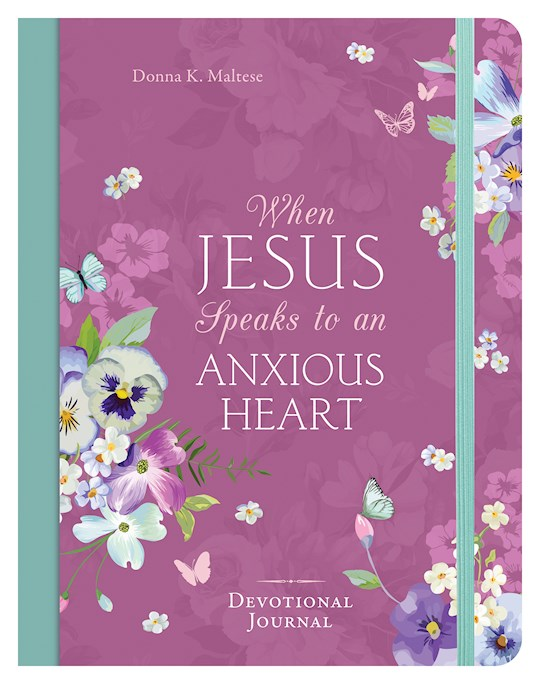 When Jesus Speaks To An Anxious Heart Devotional Journal (Dec) by Donna Maltese | SHOPtheWORD