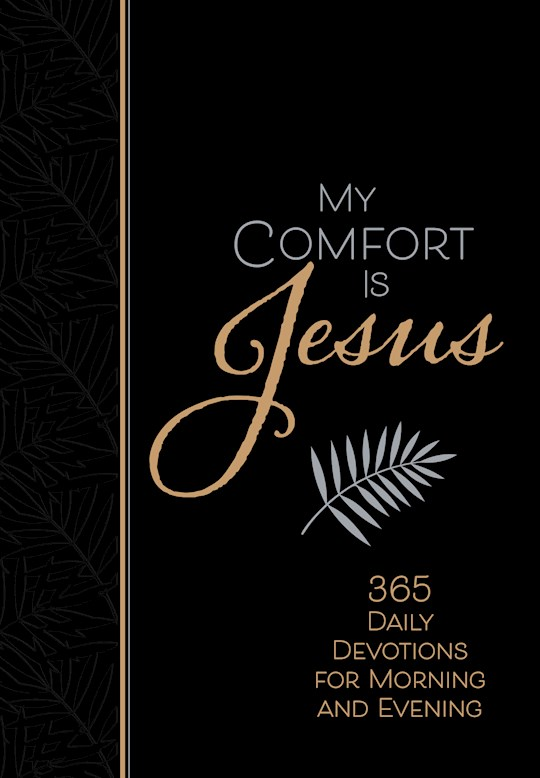 My Comfort Is Jesus-Faux Leather by Ray Comfort | SHOPtheWORD