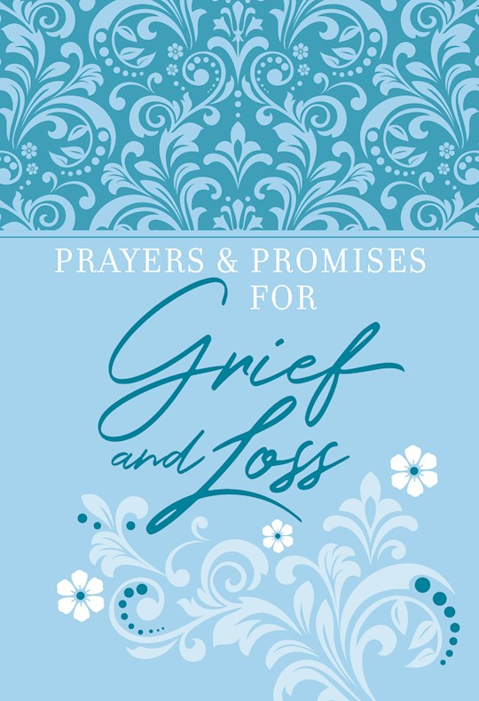 Prayers & Promises For Grief And Loss-Faux Leather by Pub Broadstreet | SHOPtheWORD