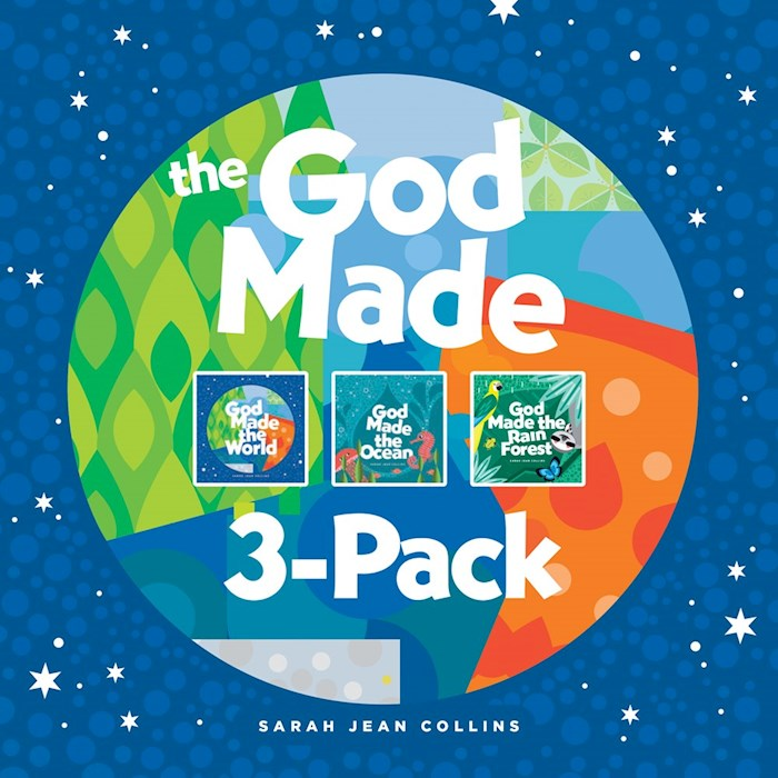 The God Made 3-Pack: God Made The World/God Made The Ocean/God Made The Rainforest (Oct) by Sarah Jean Collins | SHOPtheWORD