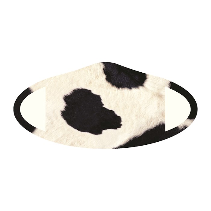 Face Mask-Cow Skin (One Size/Snug Fit) | SHOPtheWORD