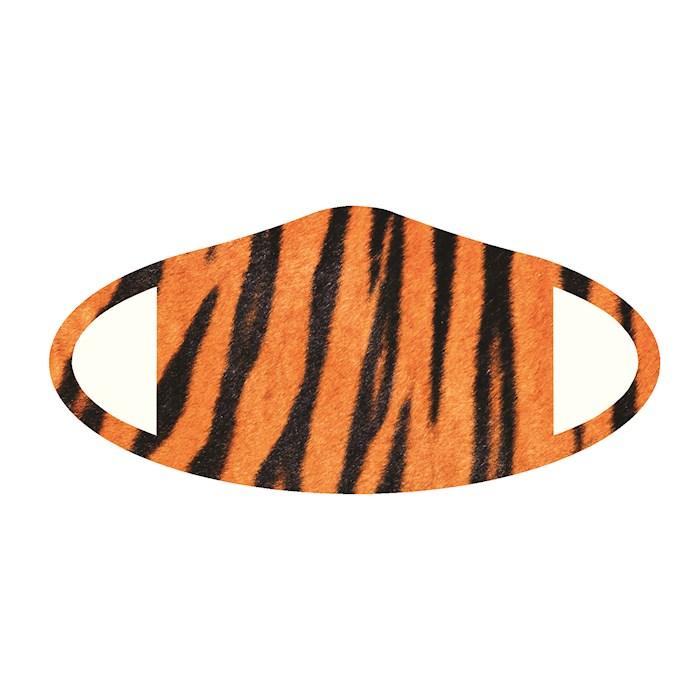 Face Mask-Tiger Skin (One Size/Snug Fit) | SHOPtheWORD