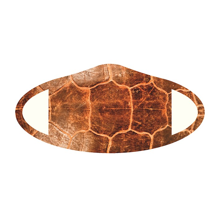 Face Mask-Turtle Skin (One Size/Snug Fit) | SHOPtheWORD
