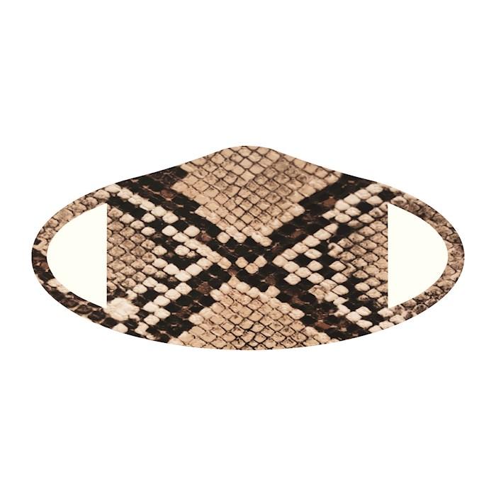 Face Mask-Snake Skin (One Size/Snug Fit) | SHOPtheWORD