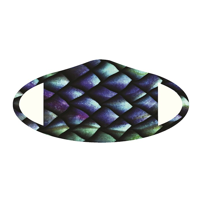 Face Mask-Fish Skin (One Size/Snug Fit) | SHOPtheWORD
