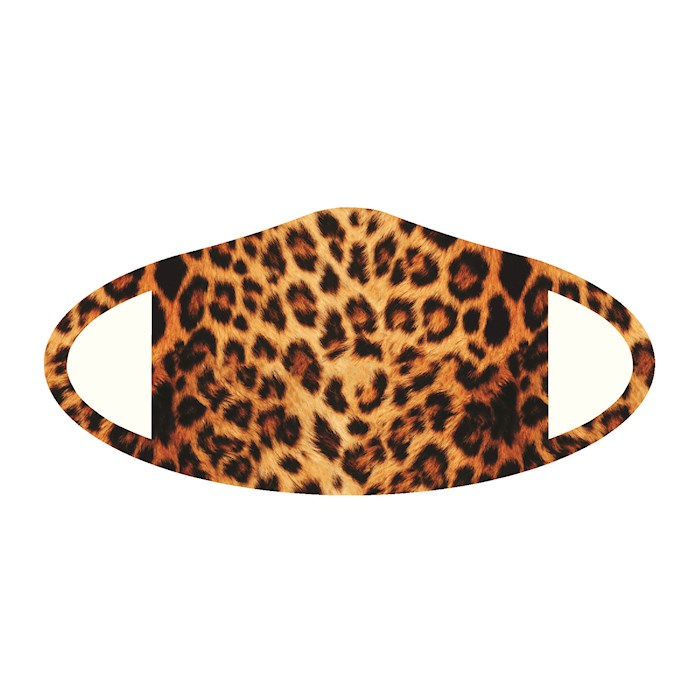 Face Mask-Cheetah (One Size/Snug Fit)   SHOPtheWORD