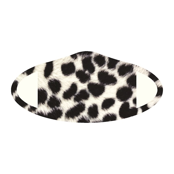 Face Mask-Snow Leopard Skin (One Size/Snug Fit) | SHOPtheWORD