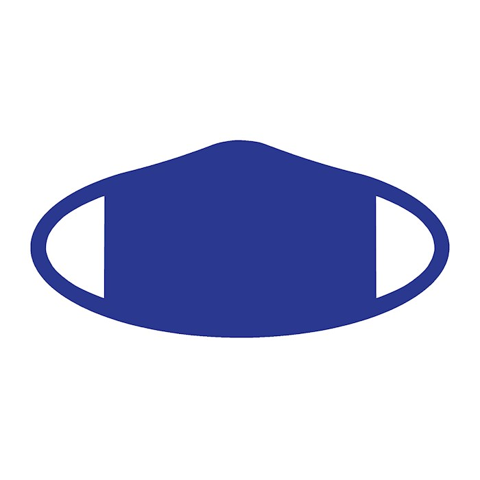 Face Mask-Blue (One Size/Snug Fit) | SHOPtheWORD